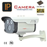 Camera IP hình trụ Samtech STN-7202FH (2.0 Megafixel)