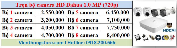 Lắp đặt camera HD dahua