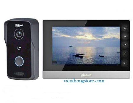 Bộ chuông hình IP Dahua VTH1510CH-VTO2111D