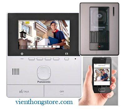 Bộ chuông cửa màn hình Panasonic VL-SVN511VN (kết nối mobile)