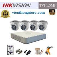 Lắp đặt gói camera HD Hikvision