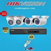 Lắp gói camera Hikvision Full1080P
