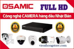 Lắp bộ camera OSAMIC 1.5 MP