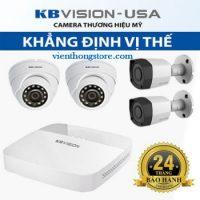 Trọn Bộ Camera KBvision 2.0 Full HD