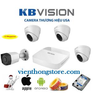 Trọn Bộ Camera KBvision 720HD
