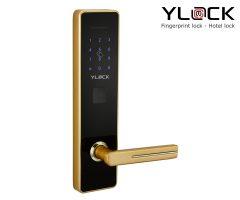 Khóa cửa điện tử YLOCK YL-8853-G (Thẻ từ, Mật mã)
