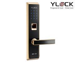 Khóa cửa điện tử YLOCK YL-8862-G (Vân tay, Thẻ từ, Mật mã)