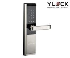Khóa cửa điện tử YL-8861CM (Thẻ từ, Mật mã)